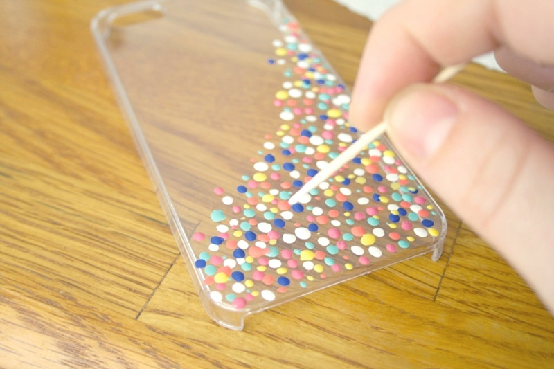 How to how to make a homemade phone case : ... in a variety of colors, Clear Phone Case, Tooth Picks, Clear Sealant