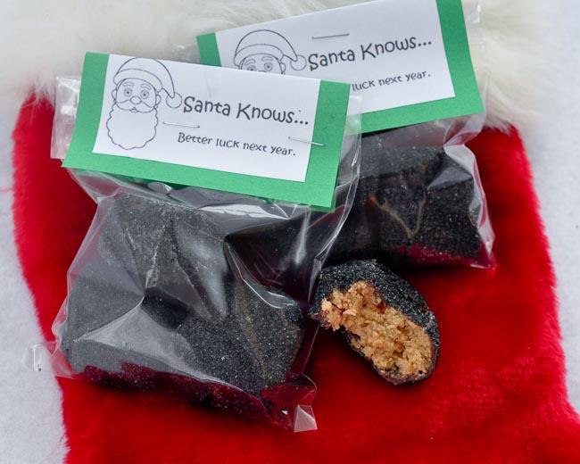 Beki Cooks Cake Blog Candy Coal for Stockings Recipe