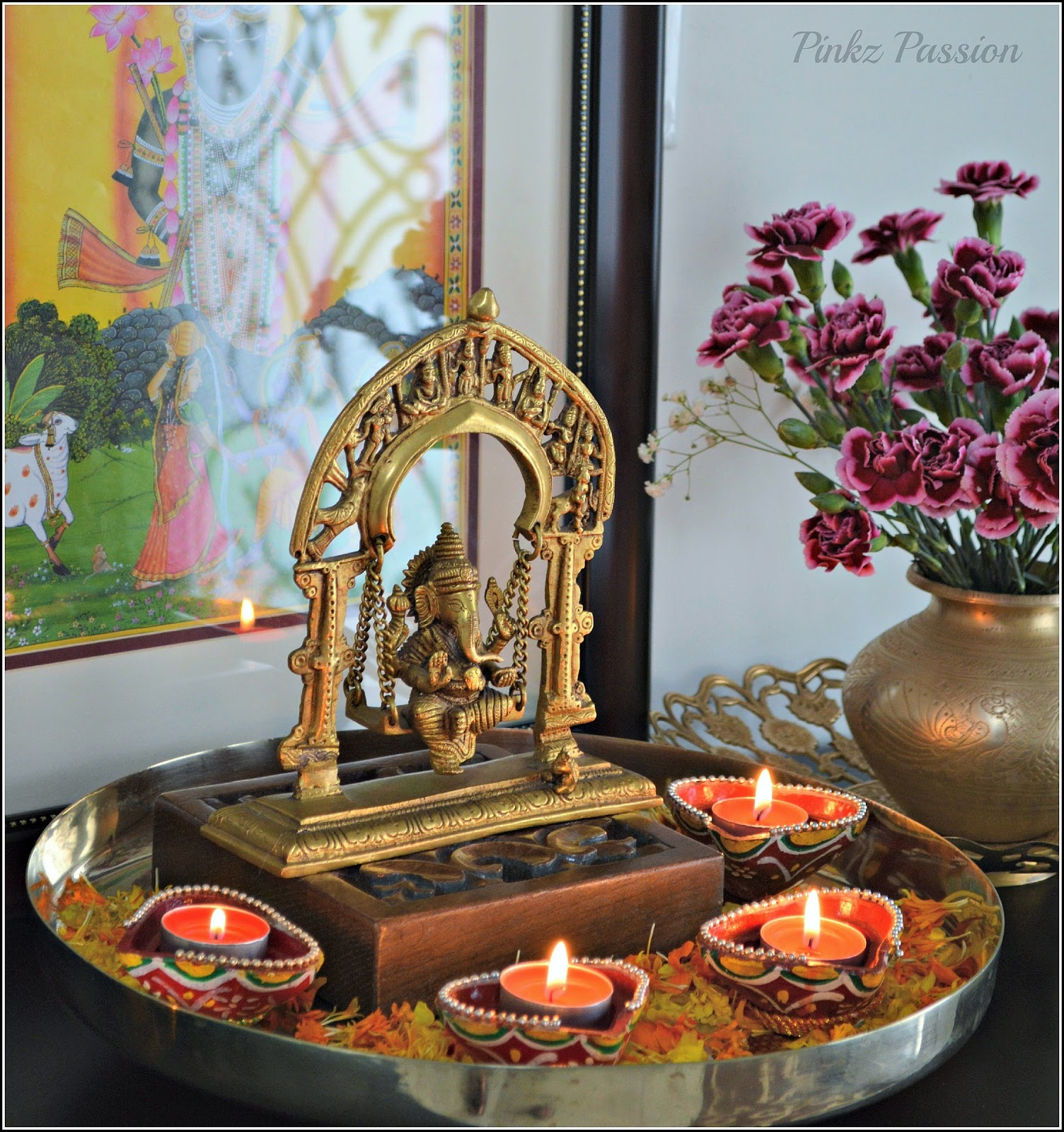 Indian Festival Decoration Pinkz Passion Festival Of Lights Diwali Decor 1