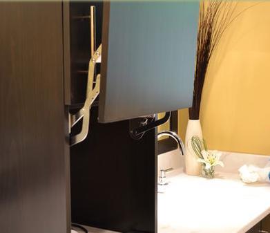 Ba os modernos decoracion de interiores ba os peque os for Interiores de banos modernos pequenos