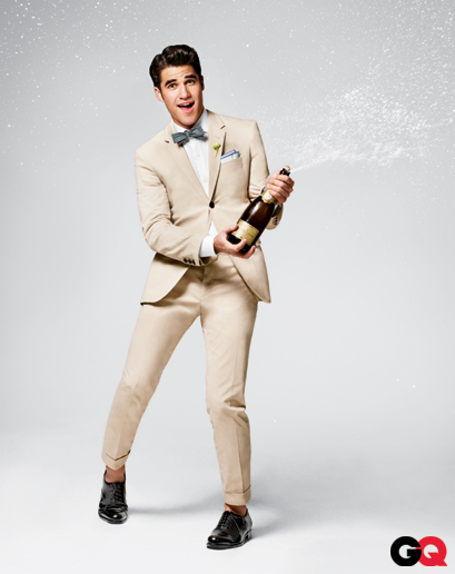 Site Stop Darren Criss Gq Summer Wedding Style Guide Photoshoot Photos And Behind The Scene Video