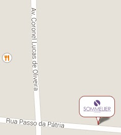 Localização Sommelier Vinhos