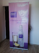 print outdoor hp montat pe sistem roll-up 85x200