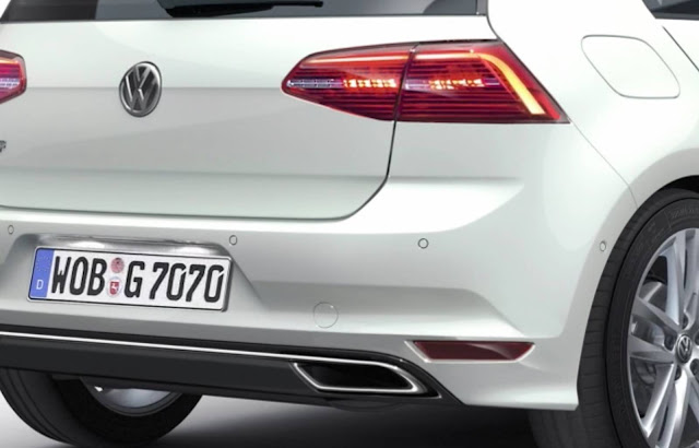 VW Golf 2017 com facelift - lanternas