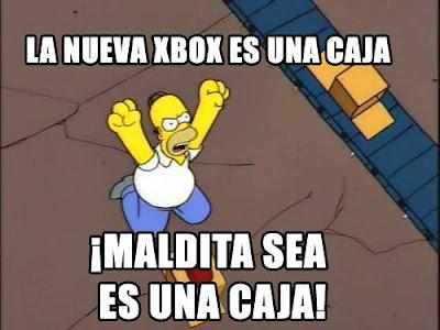 La nueva Xbox One es una caja