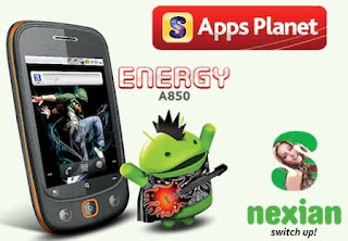 Ponsel Android Murah S Nexian A850