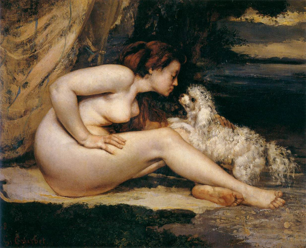 http://3.bp.blogspot.com/-8zxJNMYhRb0/T4H7ykh0dtI/AAAAAAAAP3o/iEBDYGdDsz4/s1600/Nude+Woman+with+Dog+-+Oil+Painting+by+Gustave+Courbet+1868.jpg