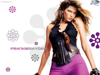 American Model Frankie Rayder HD Wallpaper