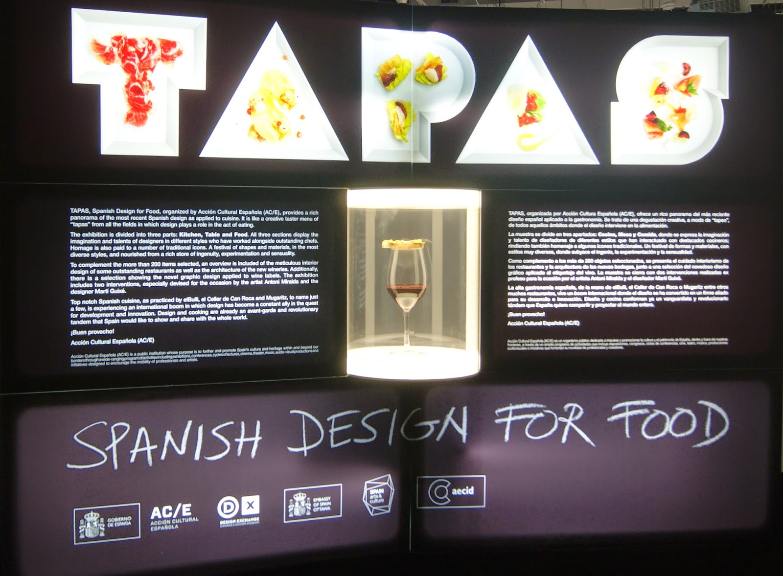 Tapas: Spanish Design For Food Exhibit at the  Exchange, Toronto, Ontario, Canada, Foodie,culture,exhibition,free, the purple scarf, Melanie_ps