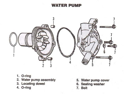 Car Water Pump System on Vw Engine Torque Specs