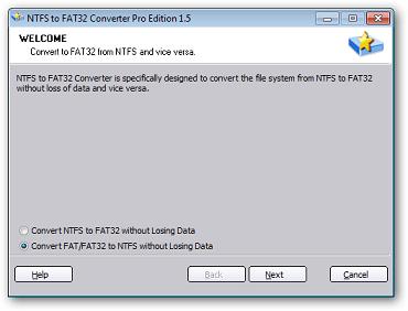 ntfs fat32 fat-to-ntfs-converte