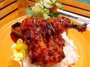 Resep Ayam Bakar Sumatera Selatan