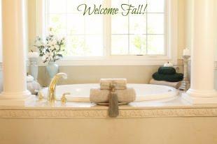Fall Bath Decor