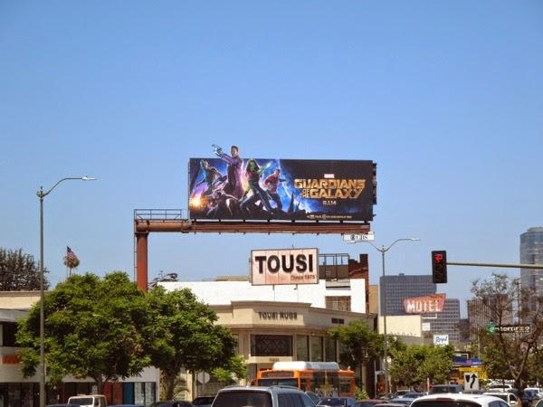 Guardians of the Galaxy movie billboard
