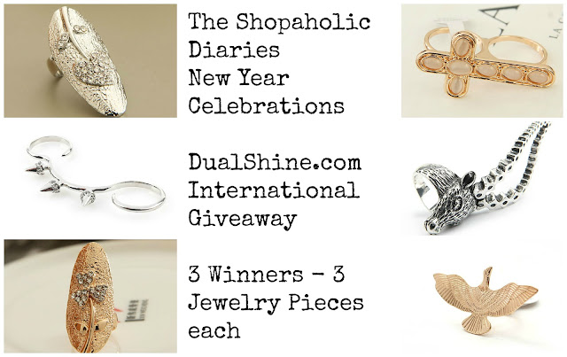 Enter to win DualShine Jewelry - ends 12/31/12