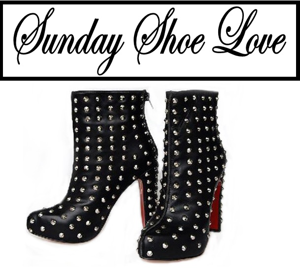 I Want You In My Closet: Christian Louboutin Ariella Clou Silver Studded Boots