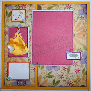 Come back Tomorrow for more Scrapbook Pages using the Jolee's Disney .
