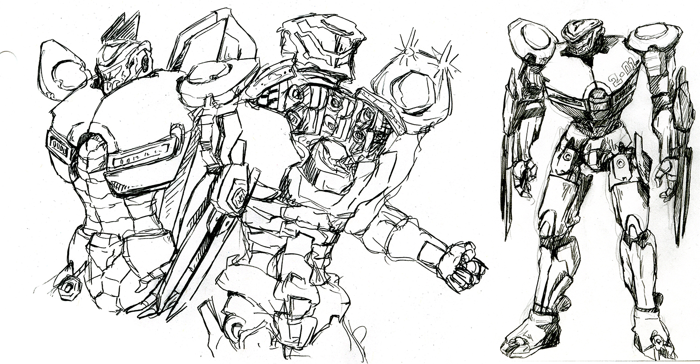 Nakayuki Sketches Striker