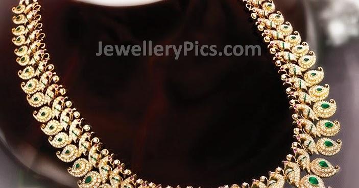 Grt Diamond Collection Mango Haram Latest Jewellery Designs
