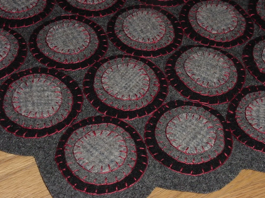 Tymes Past My First Penny Rug