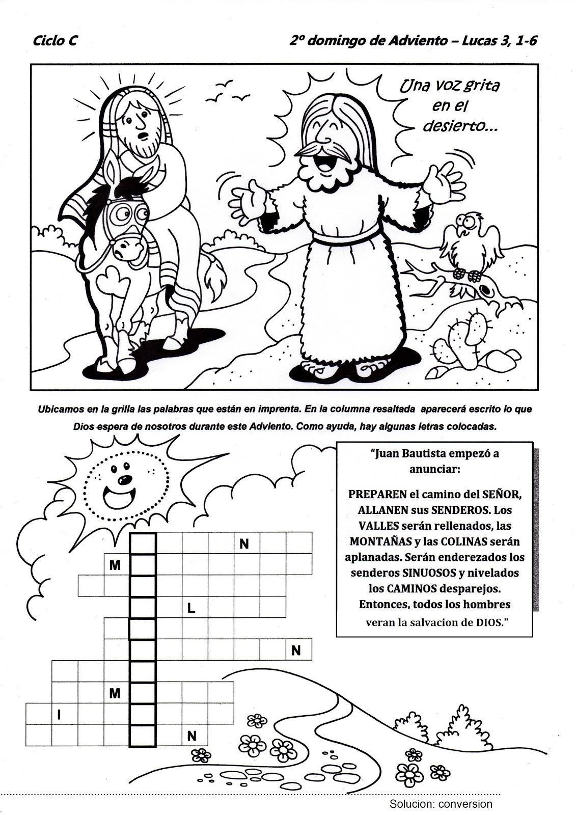 Educaci n religiosa evangelio dominical para ni os for Manualidades primaria