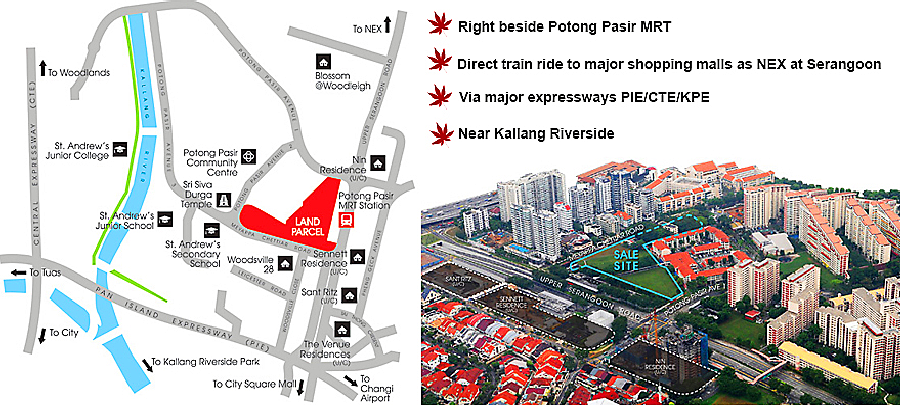 The Poiz Residences location map