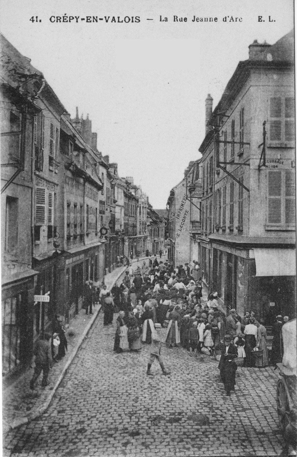 Cr py en valois en 1914 m moires du valois for Garage crepy en valois