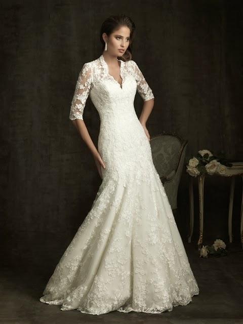 Vestido 8900 de Allure Bridals por Deseos de Boda