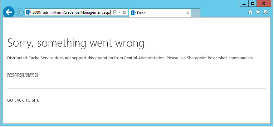 Change Distributed Cache Service Account in SharePoint 2013 with PowerShell