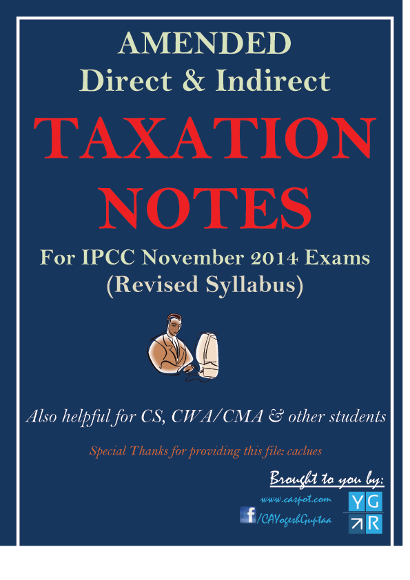 direct-and-indirect-taxation-notes-for-IPCC-November-2014