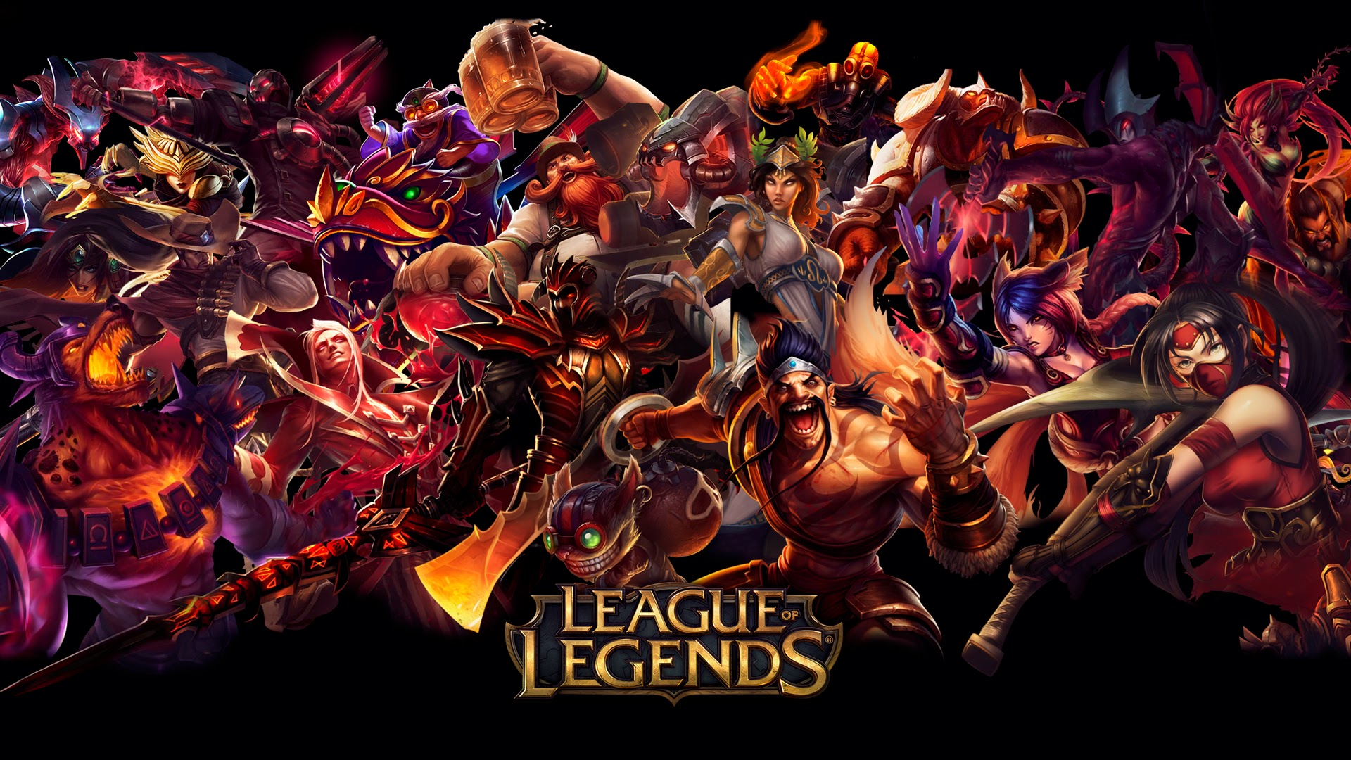 league of legends red 2v wallpaper hd