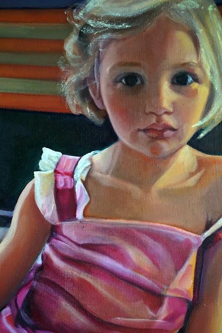 """Portrait d'ALIX en """"robe de princesse"""""""
