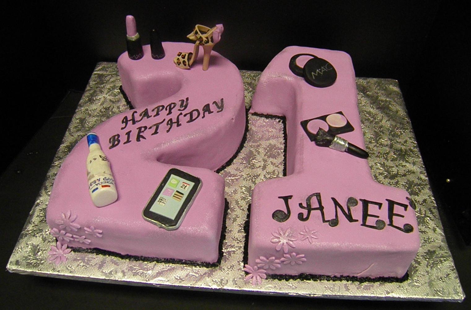 S Shaped Cake Images : Edita s Cakes: 21 Shaped Cake