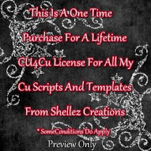 Like My Cu Script And Templates? How About a cu4cu License. In Stores Now