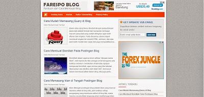 Cara Mengganti Background/Latar Belakang Blog