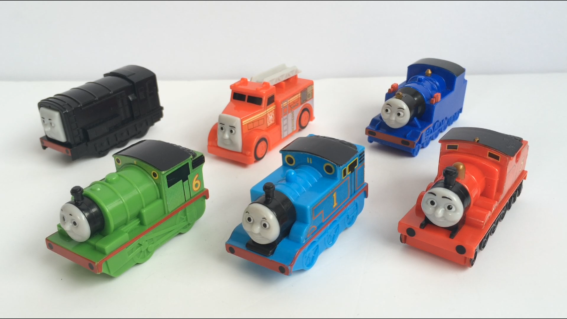 Thomas and Friends miniature pull-back trains