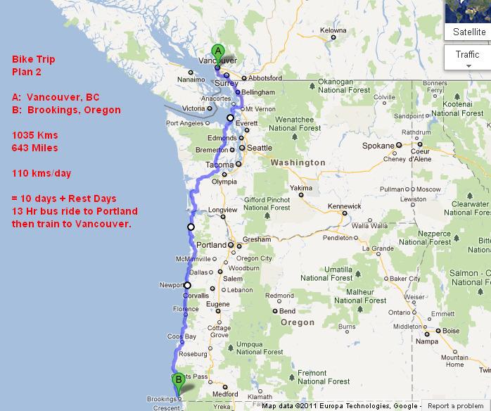 Map Of Just Oregon  Calendar Template 2016