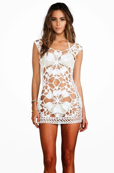 fantezi yazlık giyim,Manolya tığ elbise,fantazi giyim,dantelli giyim,yazlık örgü güyüm,yazlık dantel elbiseler