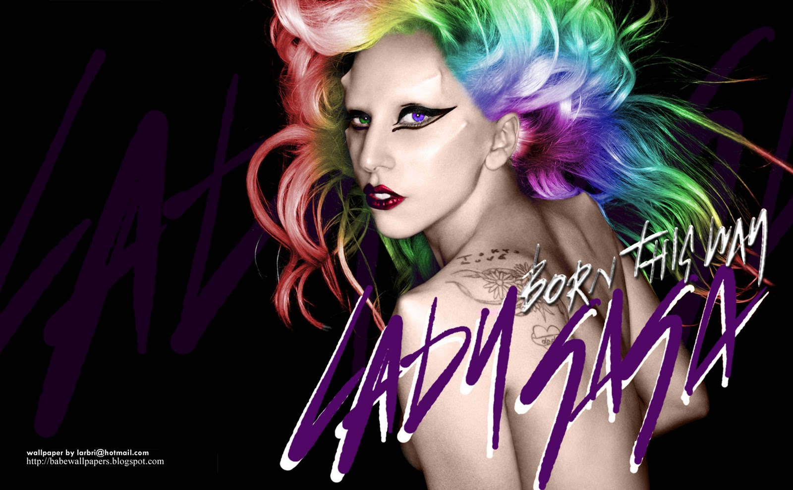lady gaga born this way wall 003c%255B1%255D Lady GaGa se da el batacazo con Judas