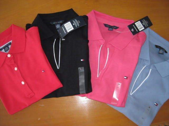 SUA ENCOMENDA  Camisa gola Polo Tommy Hilfiger Feminina Modelos ... c3b07d7240db2