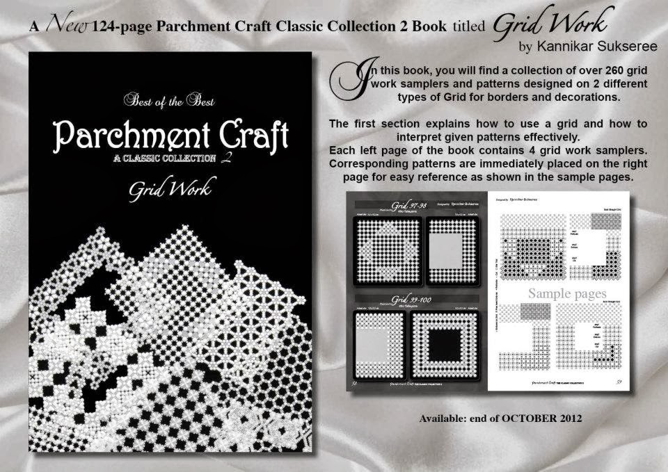 All Things Parchment Craft Parchment Craft Grid Work Challenge