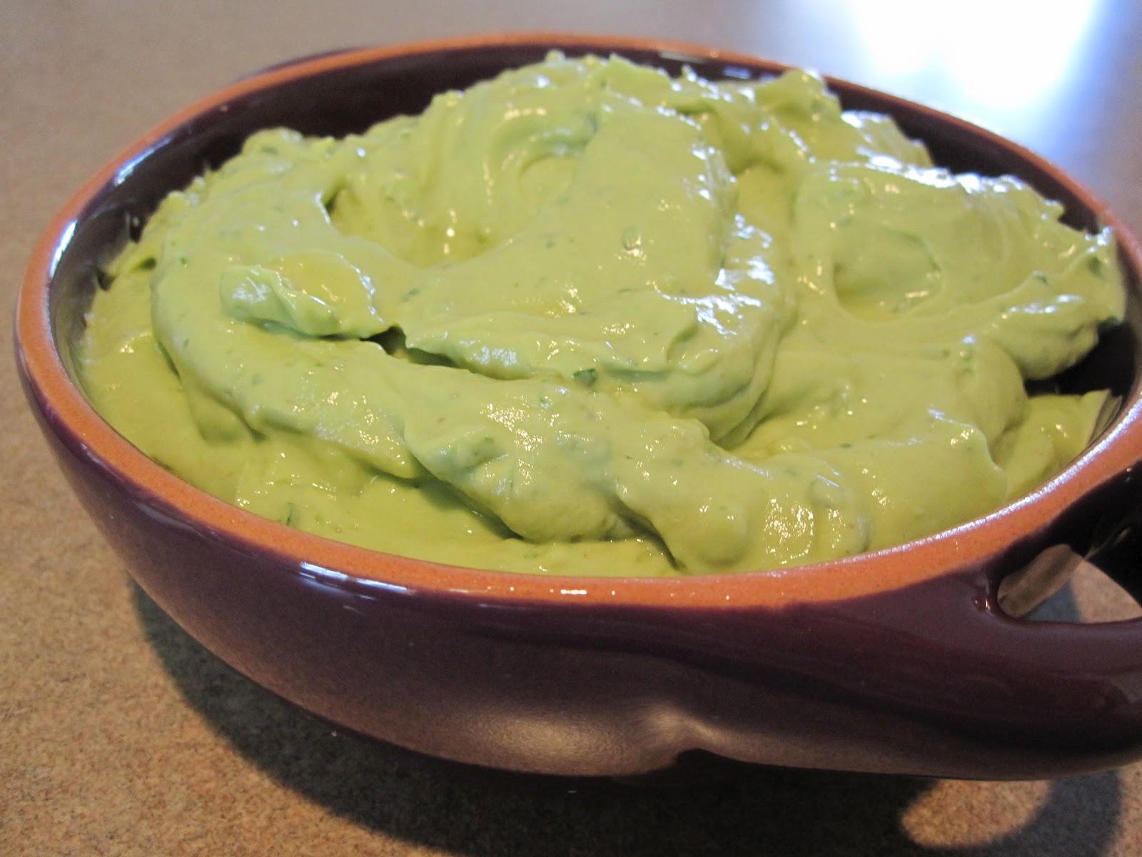Creamy Guacamole Dip Creamy avocado yogurt dip