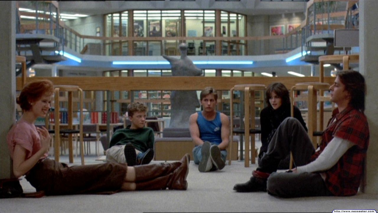 breakfast club essay scene