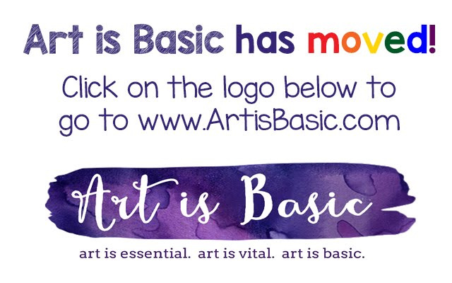 Art is Basic has moved!