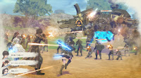 ps4 Valkyria: Azure Revolution gouache legion engine mech