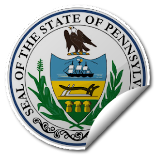 Sticker of Pennsylvania Seal