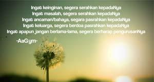 Jangan Berlama-lama Dengan Selain Allah