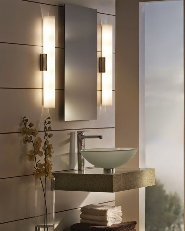 Sconce Height In Bathroom Stylish Wall Sconces