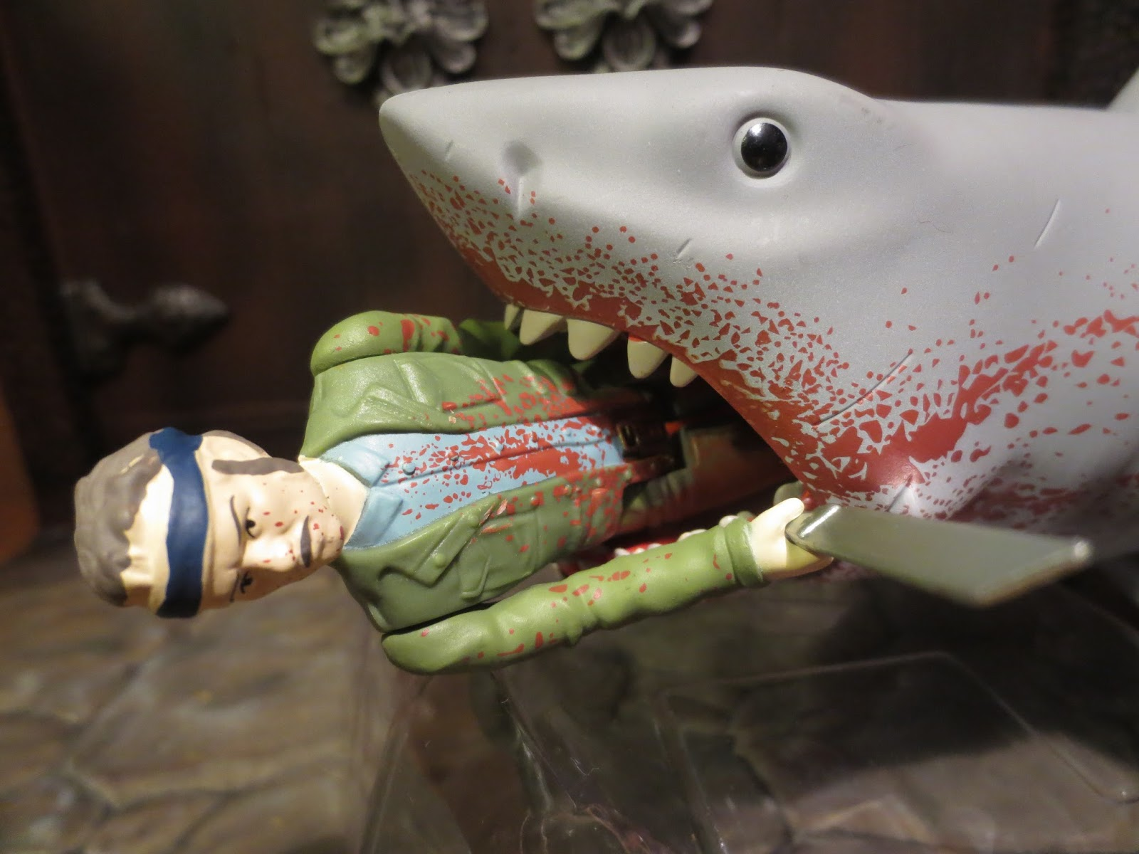 Great White Shark Jaws Toys : Action figure barbecue my top favorite individual