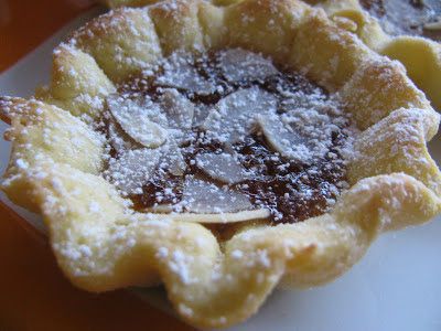 crostatine con frolla all'olio
